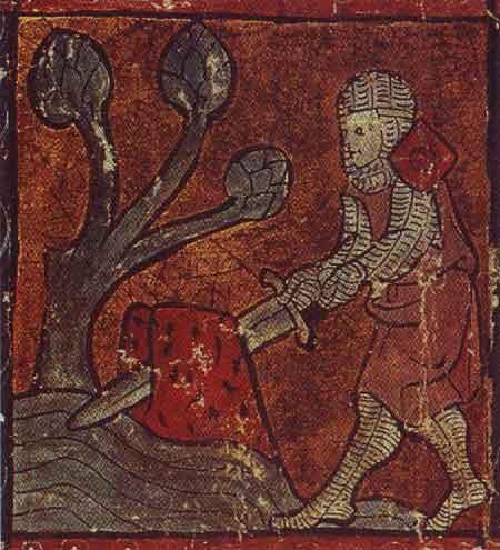 Merlin et la pierre