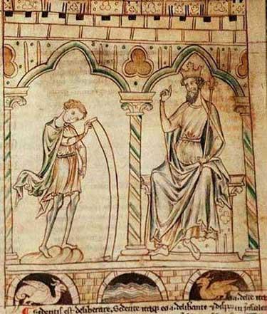 Merlin et Vortingern