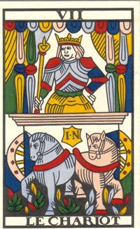 cf0a0fa16fe3b Les Secrets du Tarot  LE CHARIOT (Arcane 7)