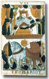 Tarot de Jean Noblet, arcane VII Le Chariot